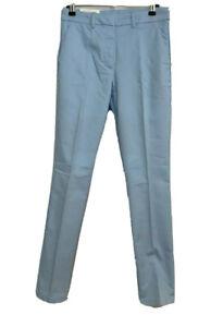 BNWT H&M Pale Blue Ladies Slacks Trousers Ankle Length Size 10 Regular Waist