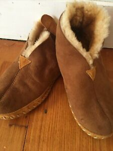 ll bean slippers Mens 9