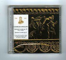 CD (NEW) GEORGES ONSLOW QUINTETTE A CORDES G.JARRY B.PASQUIER M.TOURNUS(CHARLIN)
