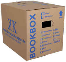 20 Bücherkartons 2-wellig Bookbox Ordnerkartons Archivkartons Midori-Europe