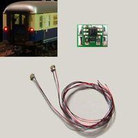 S734 - 5 Stück LED Zugschlußbeleuchtung Schlußbeleuchtung mit SMD 0603 LEDs rot