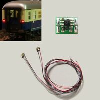 S734 LED Zugschlußbeleuchtung Schlußbeleuchtung Waggons mit SMD 0603 LEDs rot