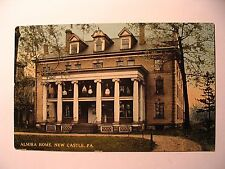 Almira Home in New Castle PA 1913