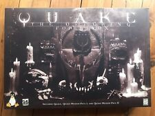 Quake The Offering Linux Edition BIG Box Rare Collector Mission Pack 1 2