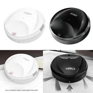 Slim Robot Vacuum Cleaner Mopping Cleaning 1500mA for Carpets Cement Floors
