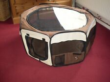 SOFT FABRIC PORTABLE DOG OR CAT PLAY PEN