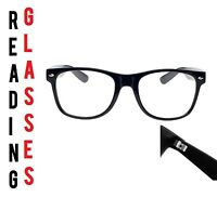 Reading Glasses +2.50 Unisex  Mens Ladies Trendy Designer Spring Geek