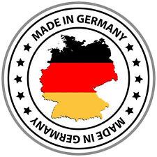 PREMIUM Aufkleber Made in Germany Sticker Autoaufkleber Deutschland Sterne NEU