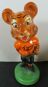 1940 Massillon Ohio Tigers Mascot Stanford Pottery Bank Football *REPAIRED* #2