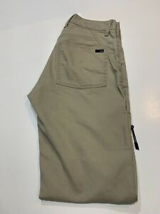 28x32 Oakley Men's Golf Athletic Pants Size 28 x 32 Khaki Tan