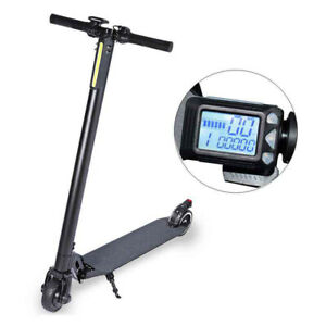 12V Electric Scooter Mountain Bike Motor Speed Controller LCD Display w/Brake
