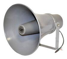 New PHSP121T 11'' Indoor / Outdoor 30 Watt PA Horn Speaker w/ 70V Transformer
