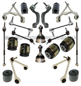 FORD THUNDERBIRD FR + RR CONTROL ARMS BALL JOINT HYDRABUSHES SUSPENSION KIT 24