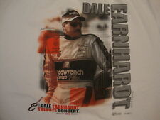 DALE EARNHARDT Sr Tribute Concert 2003 Racing NASCAR Fan White T Shirt XL