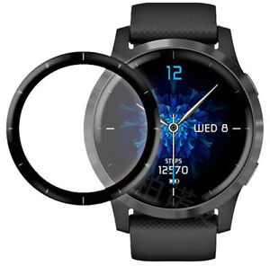 For Garmin Vivoactive 4 / 4S Smart Watch 3D Film Full Cover Screen Protector