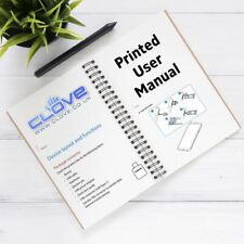 Samsung Galaxy S6 Edge Plus User Manual Printing Service - A5 Black and White