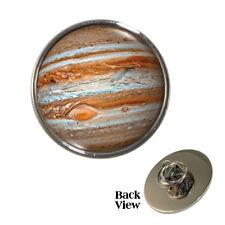 Planet Gas Giant Jupiter Pin Badge space astonomy astrology Brand New