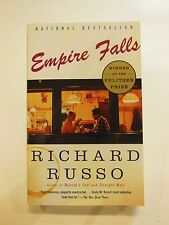 EMPIRE FALLS RICHARD RUSSO SIGNED First Edition PULITZER PRIZE PAPERBACK