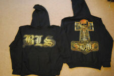BLACK LABEL SOCIETY HAMMER CROSS HOODIE SMALL NEW OFFICIAL BLS ZAKK WYLDE SDMF