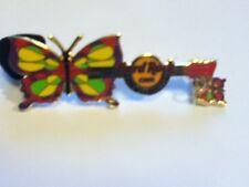 Hard Rock Cafe Pin Belo Horizonte Butterfly Dangler Guitar 2011