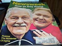 Newsweek 4/16/73 How to stay young mysteries of aging