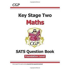 New KS2 Maths Targeted SATs Question Book - Foundation Level by CGP Books | Pape
