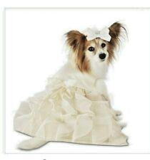"New listing You & Me ""Wedding Dress & Veil Set"" Dress Puppy/Dog Small"