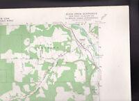 Black Creek Quadrangle Allegany County NY  US Geological Survey Map 1964