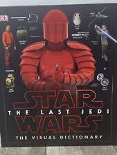 Star Wars The Last Jedi (TM) The Visual Dictionary~NEW