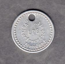 Zinndorf -LPG Völkerfreundschaft- Wertmarke aus Aluminium  (Menzel 37841.1)