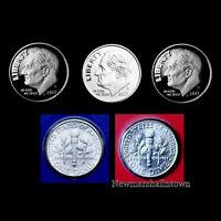 2017 P+D+S+S+S Roosevelt Dime Silver, Clad and Enhanced Mint Proof Set