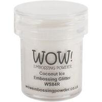 Wow Embossing Powder, 15ml, Coconut Ice
