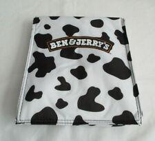 Ben&Jerry's Tasche Kühltasche schwarz/weiß großer Schriftzug NEU mit OVP