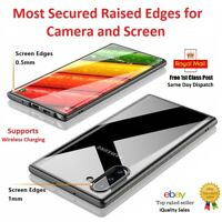 Samsung Galaxy Note 10/10+ Cover Best Case Ultra Hybrid Clear Back Hi Protection