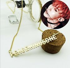 G-DRAGON GD GDRAGON ALLOY NECKLACE BIGBANG MADE TAEYANG