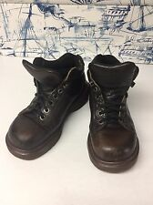 Doc Martens Boots Womens Size 5 Dark Brown  Air Wair Made In England