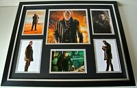 John Hurt SIGNED FRAMED Photo Autograph Huge display TV Doctor Dr Who & COA
