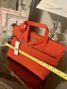 aimee kestenberg Tote Handbag  quilted crimsson red NWT