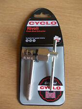 Ciclo bici bicicletta Cyclo Rivoli Catena Breaker LINK RIVET EXTRACTOR 9,10,11 SPEED
