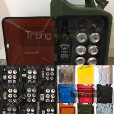 More details for multi bottle gerry can mini bar,picnic,camping,camper,vw, 4x4,drinks cabinet