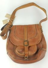 PATRICIA NASH Barcellona TAN Purse SADDLE Bag LEATHER    NEW WITH DEFECTS      f2d2bc9c3979a