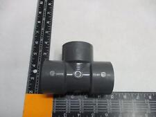 """PVC-I S-80 1-1/4"""" 3 Way Pipe Fitting Gray - NEW"""