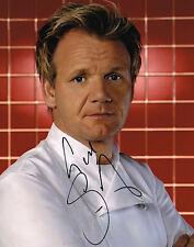 Gordon Ramsay Hell's Kitchen Masterchef SIGNED 8x10 Photo COA
