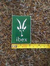 "Ibex Sticker Decal Green 2"" X 3"""