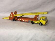 1970 Lesney Matchbox Super Kings DAF Car Transporter Hauler K-11 Yellow Orange