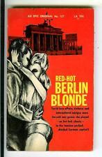 Heiße Berlin blond von kuenne, Epic #127 Ekel Spy GGA Zellstoff Vintage PB