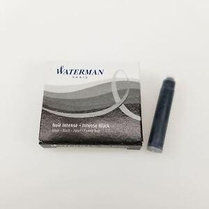 Waterman Intense Black Fountain Pen Mini Ink Cartridge (S0110940)