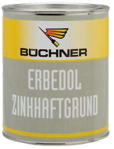 Zinkhaftgrund Büchner Erbedol Kunstharz Grundierung Rostschutz 750ml 24,27€ /ltr