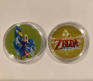 The Nintendo Legend Of Zelda Skyward Sword Loftwing amiibo coins NFC works great