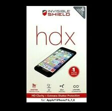 ZAGG Invisible Shield HDX for Apple iPhone 5,6,7 NEW